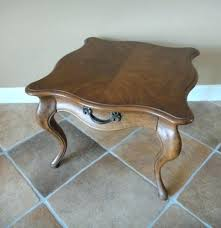 henredon coffee table round coffee table vintage tables antique and retro auction in heritage coffee