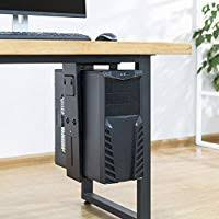 <b>CPU Holder</b> Under Desk Mount - Adjustable Wall <b>PC</b> Mount with ...