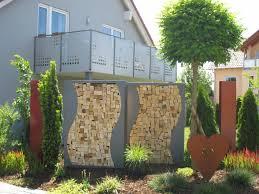 Kaminholzregal Au En Alles F R Haus Und Garten Aus Metall