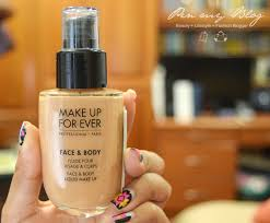 makeup forever face and body pen my msia39s fashion beauty and travel make up