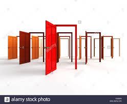 open door welcome. Contemporary Welcome Open Doors  Welcome Choice Opportunity Concept Inside Door Welcome