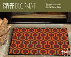 Overlook Hotel Carpet Pattern WELCOME MAT/RUG/DOORMAT ...