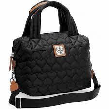 Black Quilted Handbag | Brighton Collectibles & Kayden Cross Body Satchel Adamdwight.com