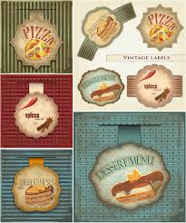 Vintage Food Labels Vector Vintage Food Labels Vector Graphics Blog