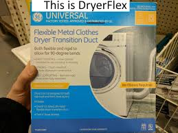 directly from home depot here i blogged about this back in 2016 structuretech1 com dryerflex a superior dryer transition duct