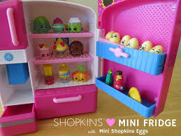 Shopkins Season 2 So Cool Fridge Mini with MINI Shopkin Eggs! - Best Gifts