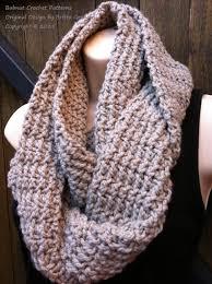 Bulky Yarn Scarf Pattern Crochet