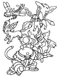Small Picture Pokemon Paradijs Kleurplaten Kleurboek Coloring Book Zenkoku