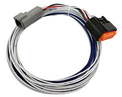 performance electronics harnesses all wires are individually labeled pin numbers the length of the harness includes 4 pin comm connector pigtail 6 long unterminated