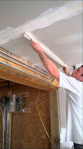 how to mud and tape drywall ceilings