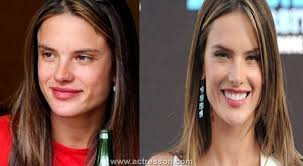 hollywood celebrities look pletely diffe without makeup 2016 alessandra ambrosio without makeup