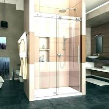 how much does it cost to install a shower door replace shower doors with cost to