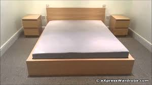 bed 2. Plain Bed IKEA Malm Bed On 2 K