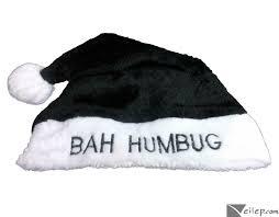 Bah Humbug Hat With Lights
