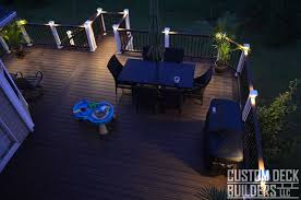 planter lighting. Custom Deck Builders \u2013 At Night With Lights, Planter, Furniture, And Children\u0027s Toy Planter Lighting