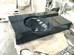 one piece bathroom sink countertop sinks basin and china