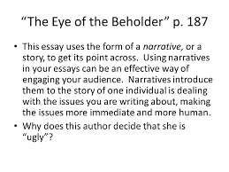 "pop culture and gender identity writing analytically ""venus envy  the eye of the beholder p"