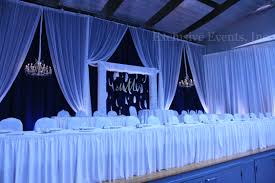 backdrop grand hall steelworkers union russos choteau gymnasium crystal chandelier blue white d headtable jpg
