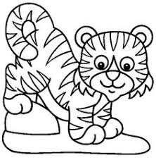 Small Picture tiger coloring page 04 Preschool Pinterest Tigers