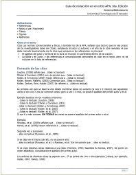 Guía De Redacción En El Estilo Apa 6ta Edición Guía De Redacción