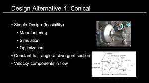 How To Design A Nozzle Team 18 Design Optimization Of A Supersonic Nozzle Ppt