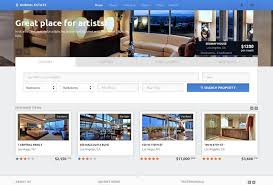 Real Estate Website Templates Best 48 Real Estate HTML Website Templates Postashio