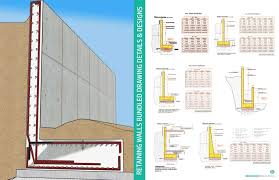 reinforced concrete retaining walls