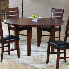 Amazoncom 60rd Drop Leaf Table Drk Oakfeature 1 Built In Lazy