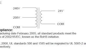 need help wiring 240v \u003e 24v transformer for rpc start curcuit 24 volt transformer hvac wiring at 24v Transformer Wiring Diagram