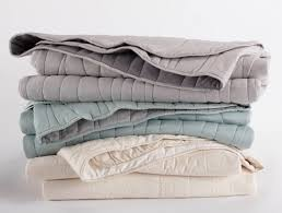 Reversible Organic Cotton Quilts - Coyuchi & Organic Cotton Reversible Wave Quilt Adamdwight.com