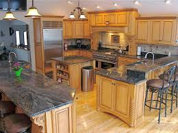 fascinating oak cabinets with granite countertops pictures of kitchen trends images