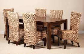 fantastic cane dining room furniture cane dining room furniture mango wood table and rattan dining chairs