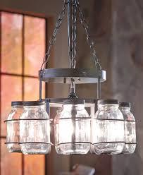 chandelier with jars chandelier