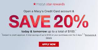 macy s credit cards rewards program
