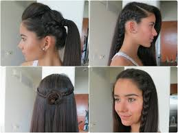 Simple Hairstyles For College Different Simple Hair Styles For College Girls Various Styles Of