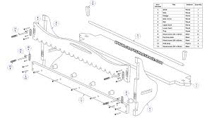 wooden wall shelf with pegs plan parts list
