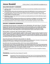 Security Job Resume Musiccityspiritsandcocktail Com