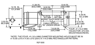 wiring diagram ramsey 9000 winch the wiring diagram okoffroad winch ramsey rep series wiring diagram