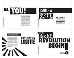 The Design Revolution Ignite A Design Revolution Manifesto On Behance