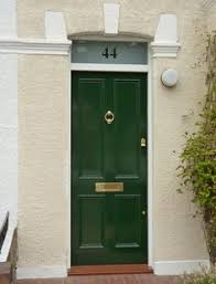 green front doorsI find it highly doubtful I will ever have a green front door but