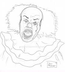 Clown Coloring Pages Best Pennywise The Of Amazing Stock Photos Hd