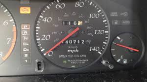 How To Reset The Maintenance Required Marker On 1999 Acura Cl