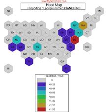 BIANCHINO Last Name Statistics by MyNameStats.com