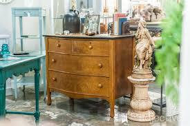 1920, Birds Eye Maple Bow Front Dresser front Lebonon Valley Furniture Co  by Baker's Dozen