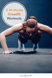 3 no equipment crossfit workouts you