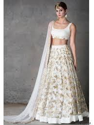 Lehenga Design In Nepal White Organza Hand Work Wedding Bridal Designer Wholesale Lehenga Choli
