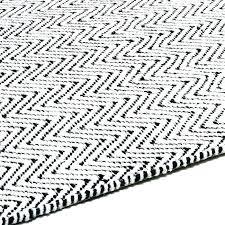 black and white area rug rugs aztec ikea stylish gr