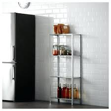 ikea stainless steel shelves shelf brackets kitchen unit .