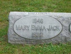 Mary Emma Thornhill Jack (1848-1922) - Find A Grave Memorial