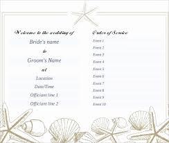 wedding program template free word free downloadable wedding program templates awesome wedding program